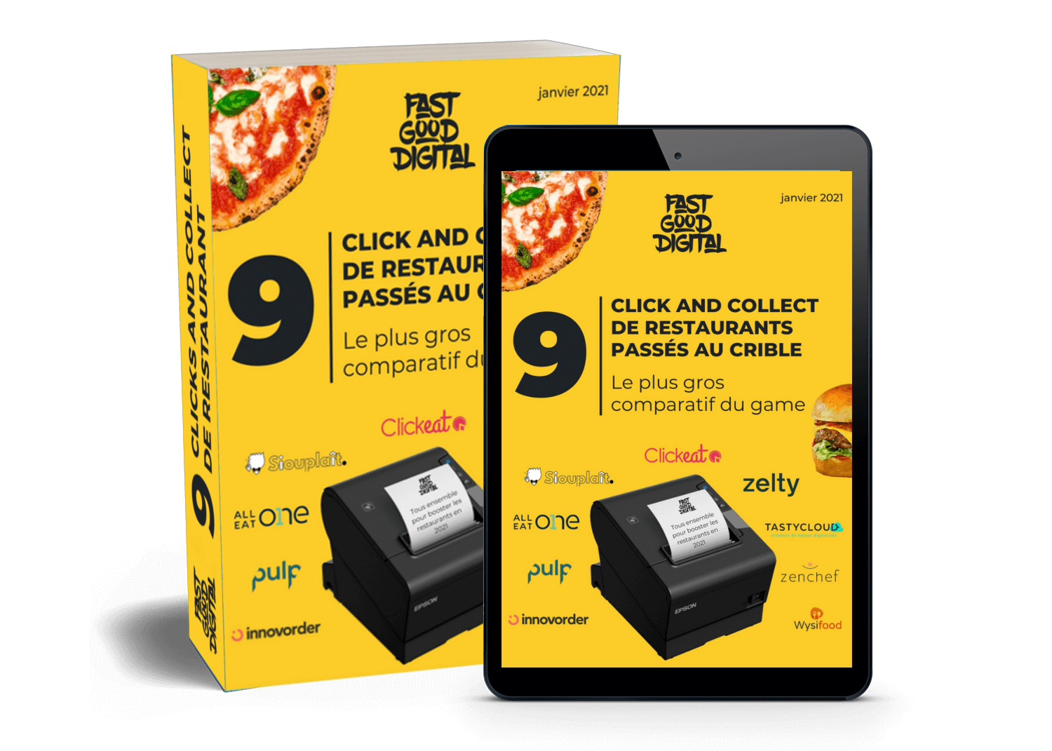 Comparatif Click and collect restaurant 2021