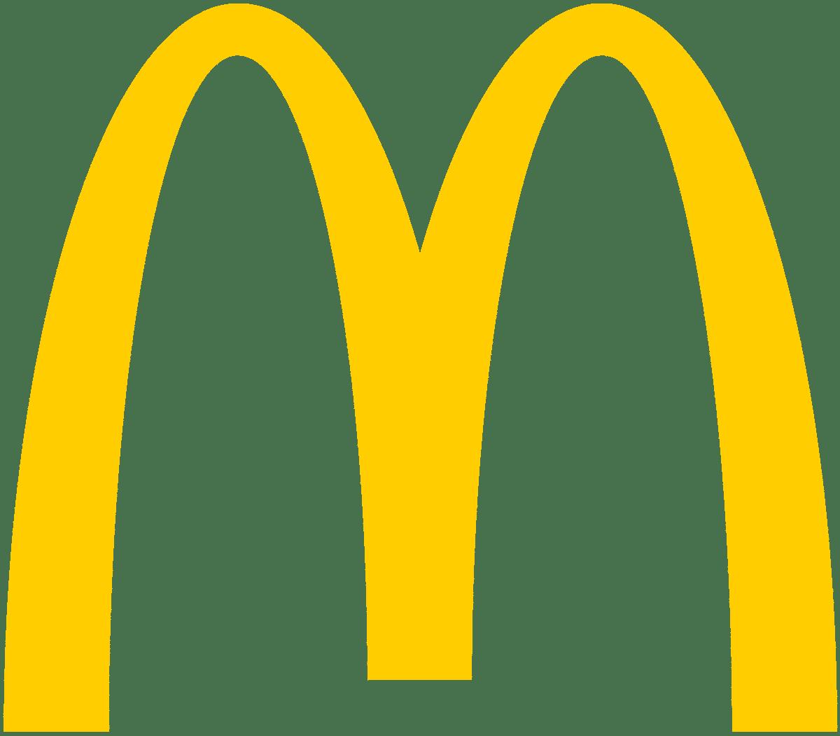 Logo Mac Donald typographie couleurs visuels de la marque