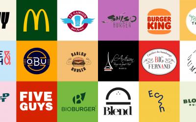 27 logos de restaurants de burgers pour s'inspirer et créer le sien