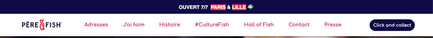 Pere et Fish restaurant