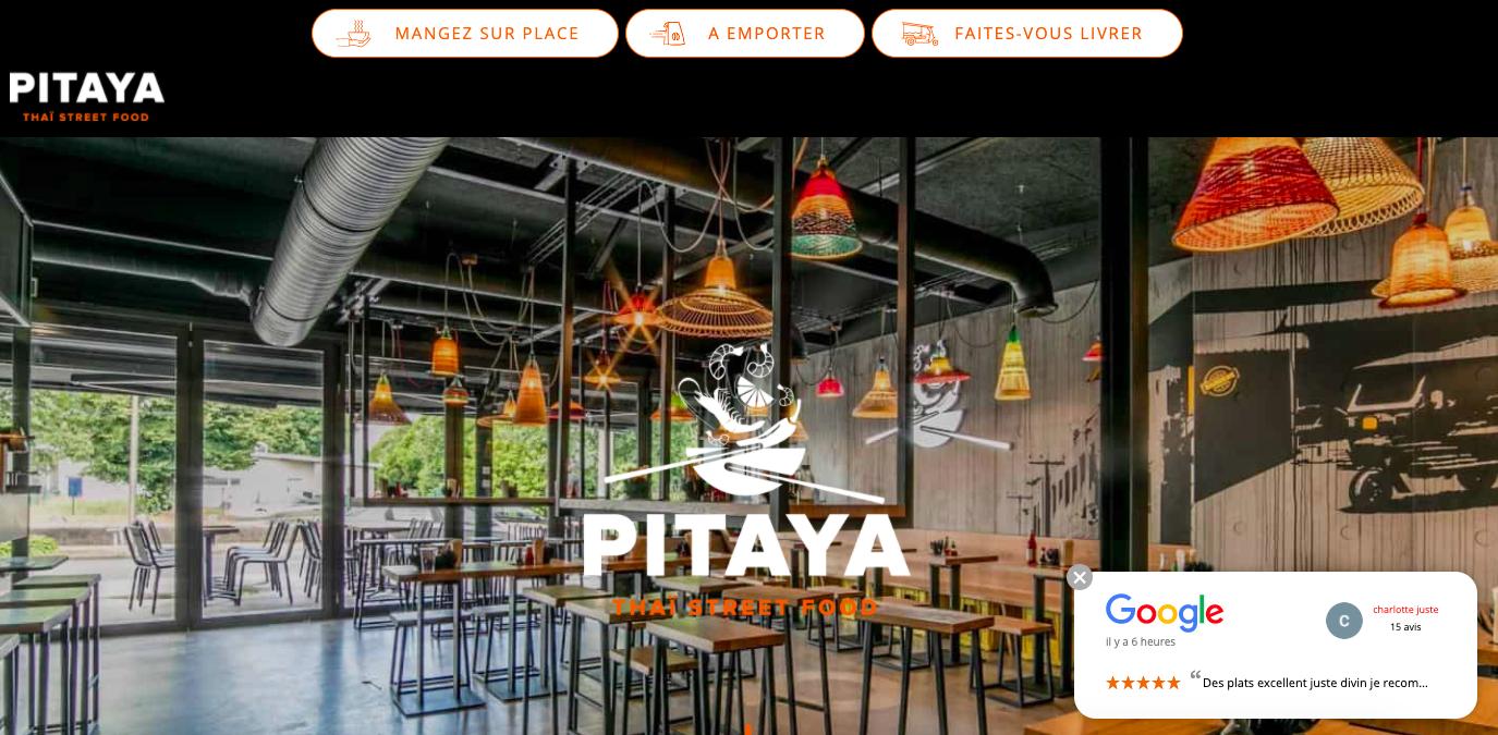 Pittaya Site Web Restaurant