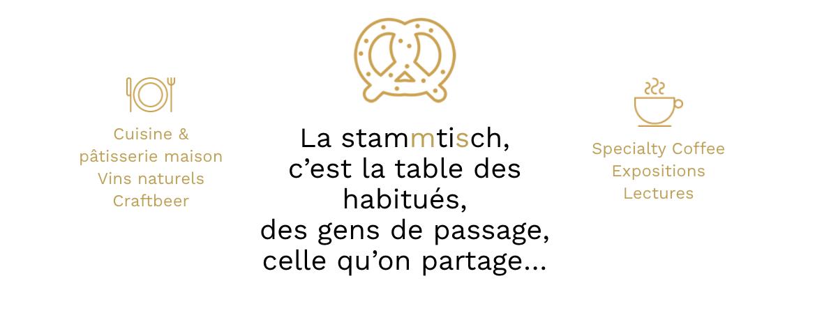 Stamtich Site Web Restaurant Page d'accueil