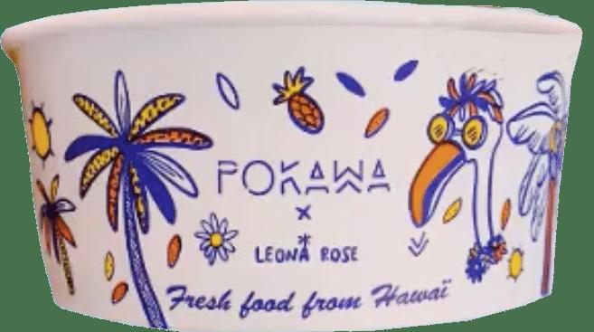 Pokebowl artiste leona rose pokawa